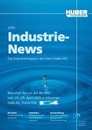 Industrie Report, Ausgabe 2005, deutsch - Hans Huber AG