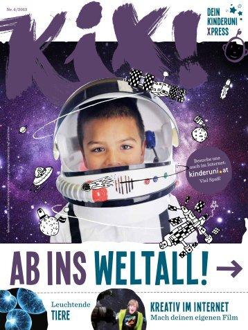 Kix! 04/2013 — Ab ins Weltall! - Kinderuni