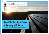 Solar PV Atlas: Solar Power in Harmony with Nature - WWF