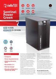 Sentinel Power Green - Riello UPS