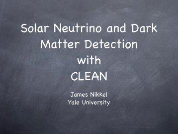 James Nikkel Yale University - panic05 - Los Alamos National ...