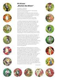 Infoblatt - Pit Kinzer Kunstprojekte