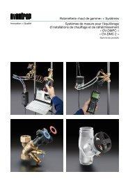 + Systèmes Systèmes de mesure de la pression ... - Oventrop