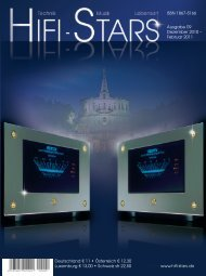 Hifi-Stars Dezember 2010 - Februar 2011 - Unison Research
