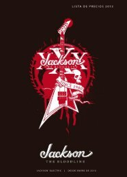 Jackson® Guitars & Basses - Arco Iris Musical