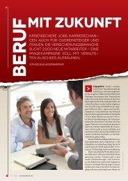 Seite 20-21: Beruf mit Zukunft - Report