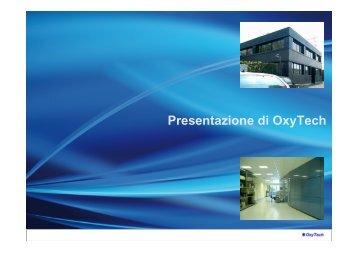 Presentazione di OxyTech