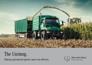 "Brochure ""Greater economy in agricultural logistics ... - Mercedes-Benz"