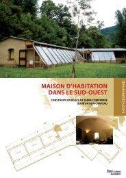 MAISON D'HABITATION DANS LE SUD-OUEST - Arpe