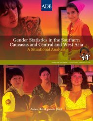 Gender Statistics in the Southern Caucasus and Central and West ...