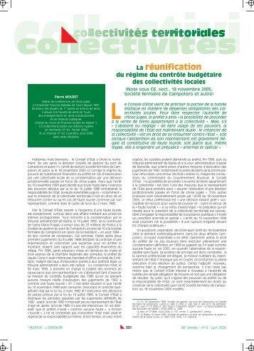 Pierre MOUZET - Gestion et Finances Publiques La revue
