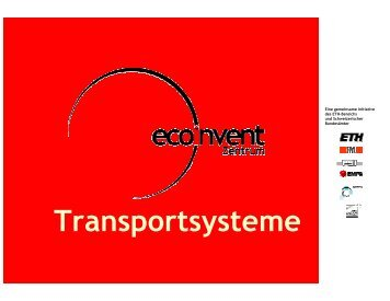 Air Transport - EcoInvent