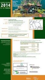Flyer Bundestagung 2014 - Bundesarbeitsgemeinschaft: Lernort ...