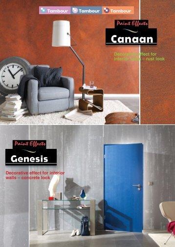 Genesis - Tambour Paints