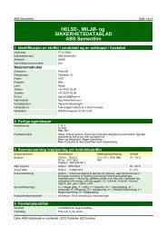 HMS-datablad ABS-lim - Flexit