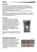 Monteringsveiledning - Flexit - Page 3