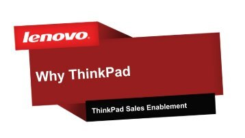 ThinkPad - Lenovo Partner Network