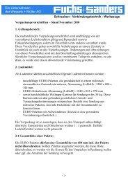 Verpackungsvorschriften deutsch - Fuchs + Sanders