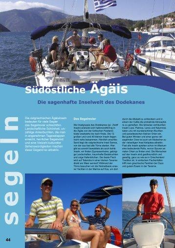 Südöstliche Ägäis - Windbeutel Reisen