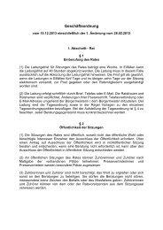 Geschäftsordnung Rat - Flecken Salzhemmendorf