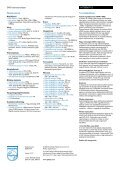 HTS3367/12 Philips DVD házimozirendszer - LCD és plazma TV ... - Page 2