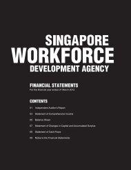 Singapore Workforce Development Agency - WDA
