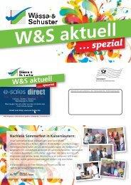 … spezial - Wässa & Schuster