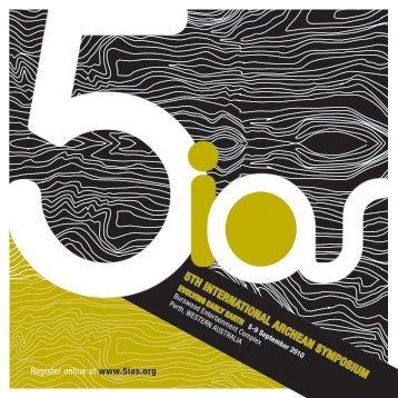 5th international archean symposium - Geological Society of Australia