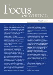 Focus on Women - issue 06 - Rights of Women
