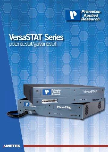 VersaSTAT Series Brochure A4.indd - UPC