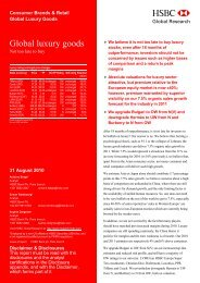 Global Luxury Goods - French Chamber of Commerce and Industry ...