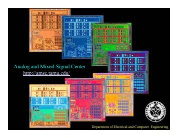 about amsc - Analog and Mixed Signal Center - Texas A&M University