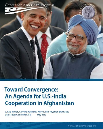 Toward Convergence: An Agenda for U.S.-India Cooperation in ...