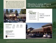 Monta Loma Plaza - Prime Commercial, Inc