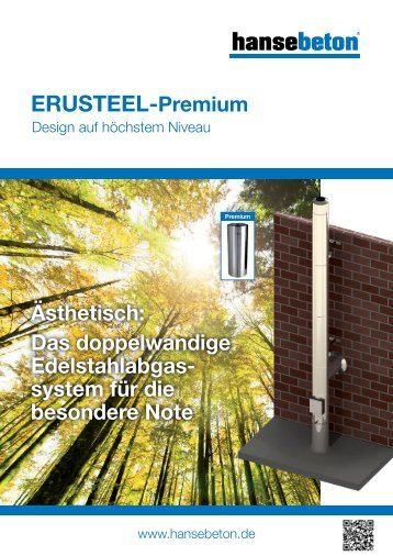 Prospekt ERUSTEEL Premium (PDF) - Hansebeton