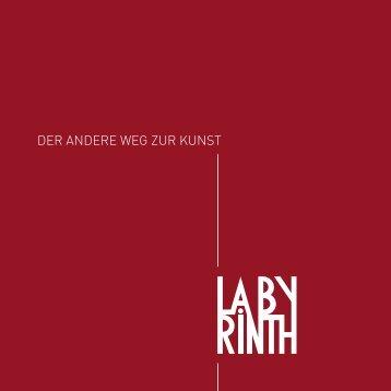 Labyrinth: Künstlerkatalog 2013