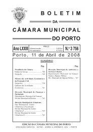 boletim 3756 - Câmara Municipal do Porto