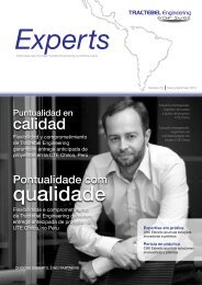 EXPERTS Magazine - 2nd Issue May.2013 - Tractebel Engineering