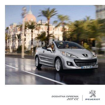207 CC - Peugeot