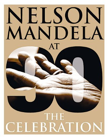 90th celebrations booklet - Nelson Mandela Foundation