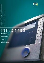 INTUS 3450 Zeiterfassung Zeitwirtschaft MagicEy e - RZH - New ...