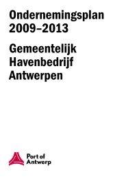 Ondernemingsplan 2009 - 2013 Filetype - Port of Antwerp