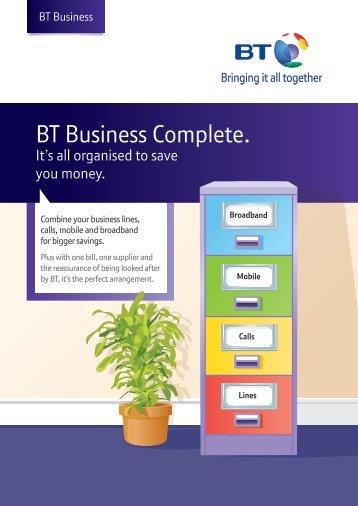 BT Business Complete. - BT Northern Ireland