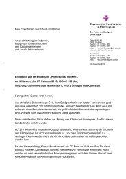 Einladung Klimaschutz mit Briefkopf