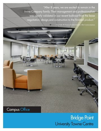 Bridge Point Brochure - IrvineCompanyOffice.com