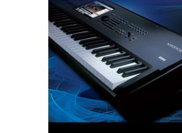 Download the KORG Proview Catalogue here (PDF 5.8