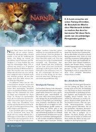 Narnia - Ethos