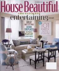 House Beautiful November 2010