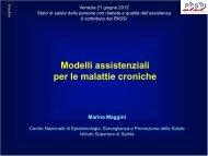 Marina Maggini - EpiCentro - Istituto Superiore di Sanità