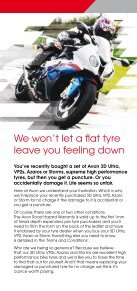 Puncture? Accidental damage? - Avon Motorcycle Tyres North ... - Page 2